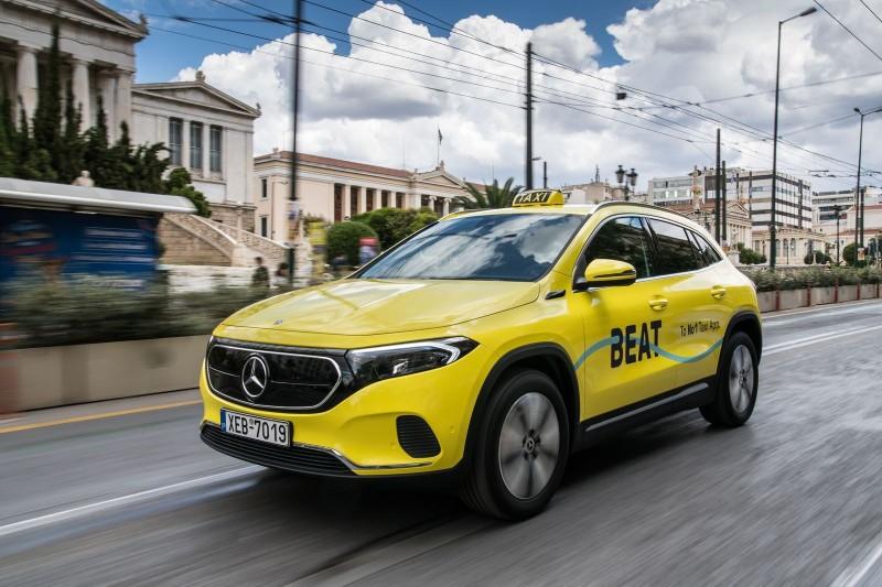 Beat: Μηδενικό αποτύπωμα ρύπων ως το 2025 και ηλεκτρικά taxi