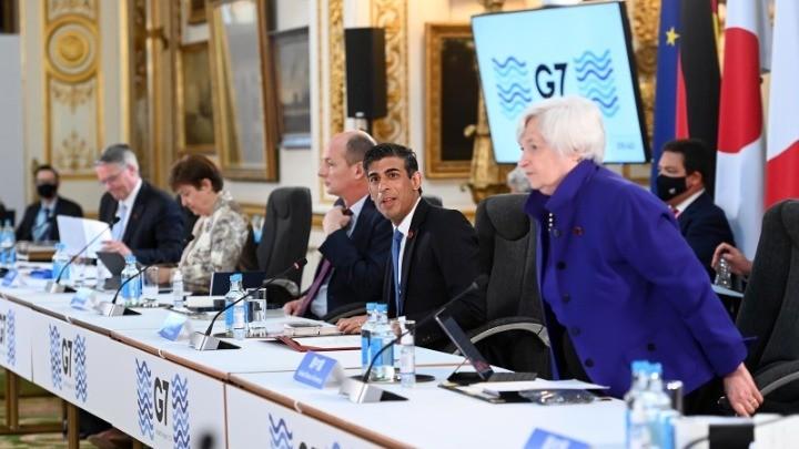 Ιστορική συμφωνία G7:Παγκόσμιος ελάχιστος εταιρικός φόρος 15%