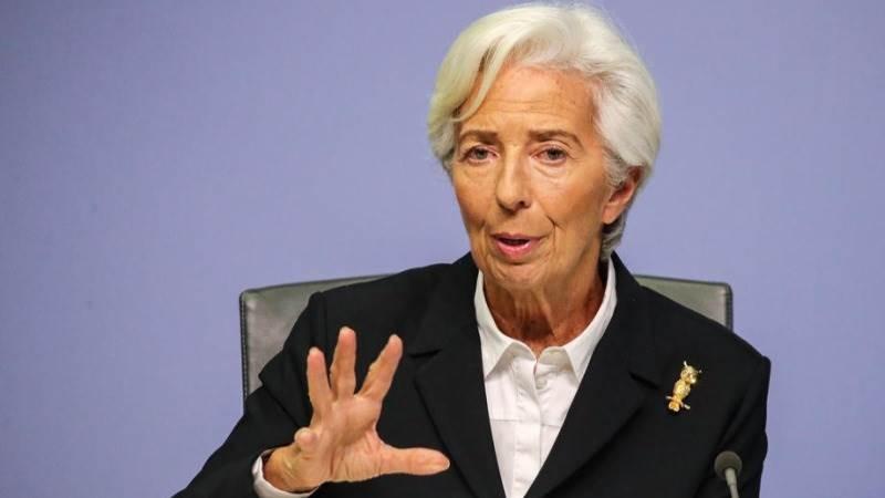Αισιόδοξη για την πορεία της οικονομίας της Ευρωζώνης η Κριστίν Λαγκάρντ