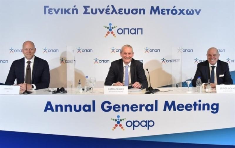 ΟΠΑΠ: Υλοποίηση της στρατηγικής fast forward - Ζίγκλερ και Κάρας μίλησαν στην ΓΣ