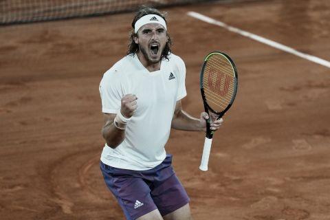 Στ. Τσιτσιπάς: Νίκησε τον... κακό του δαίμονα, πέρασε στους 4 του Roland Garros