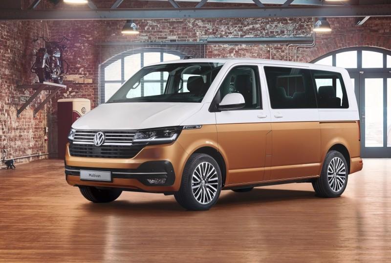 Το νέο Volkswagen Multivan διακρίνεται για την πρακτικότητα