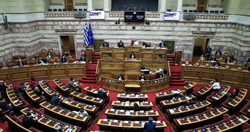 Βουλή: Κατατέθηκε το μεσοπρόθεσμο Πλαίσιο Δημοσιονομικής Στρατηγικής 2022 - 2025