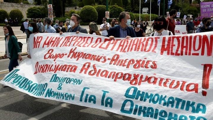 24ωρη Πανελλαδική απεργία ΓΣΕΕ - ΑΔΕΔΥ