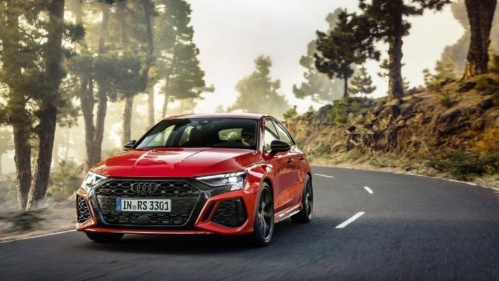 Εντονες συγκινήσεις από το νέο Audi RS 3