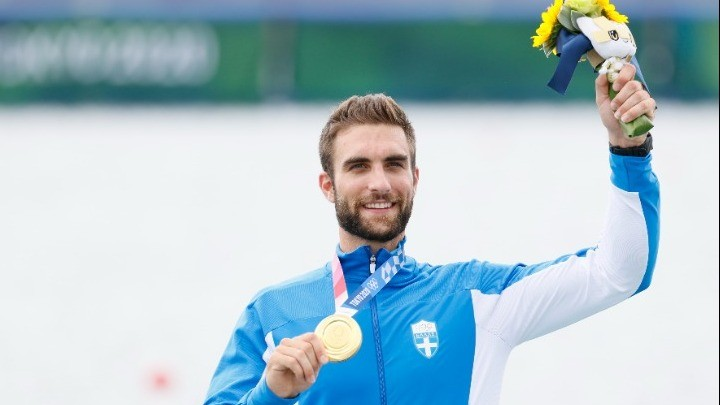 «Χρυσός» με Ολυμπιακό ρεκόρ ο Στέφανος Ντούσκος