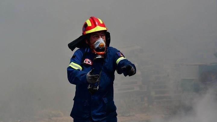 Ρόδος: Πυρκαγιά στην περιοχή της Θολού