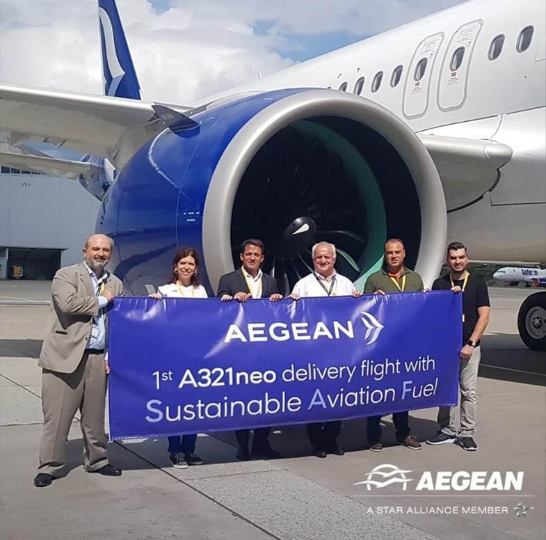 AEGEAN: Παρέλαβε ένα ακόμη αεροσκάφος Α321neo