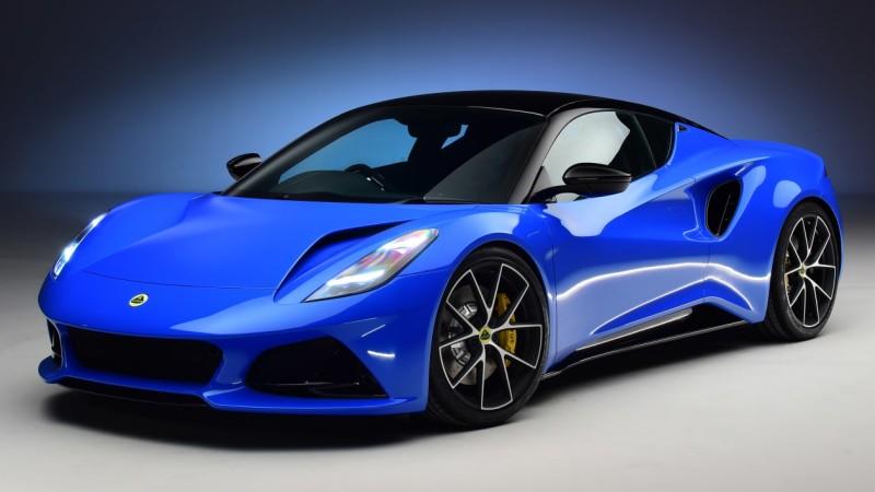 Η Lotus Emira εξοπλίζεται με κινητήρα της AMG