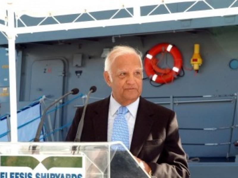Απεβίωσε ο Νίκος Ταβουλάρης, πρώην πρόεδρος των Ναυπηγείων Ελευσίνας και Νεωρίου
