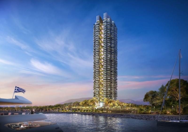 Lamda-Αθανασίου:: Τεράστια ζήτηση για τα διαμερίσματα του πράσινου ουρανοξύστη