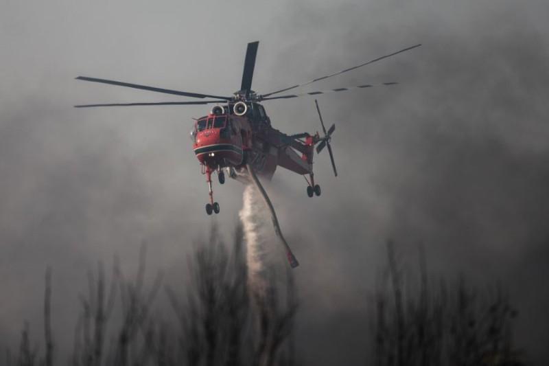 Παρέμβαση εισαγγελέα για τη φωτιά στη Βαρυμπόμπη