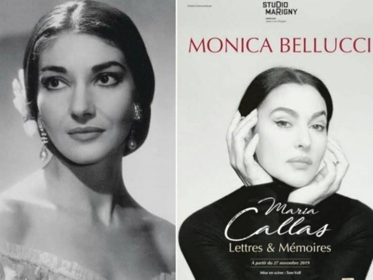 Ηρώδειο: Παραστάσεις της Μόνικα Μπελούτσι για τη Μαρία Κάλλας