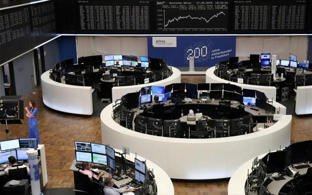 Ευρωπαϊκά χρηματιστήρια: Μικρή υποχώρηση από τα επίπεδα ρεκόρ