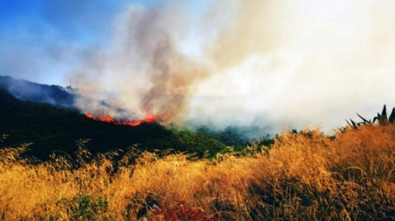 Εντολή εκκένωσης του χωριού Λογγίτσι Φθιώτιδας λόγω πυρκαγιάς