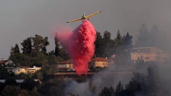 Γαλλία: Μάχη για να τεθεί υπό έλεγχο πυρκαγιά κοντά στο Σεν-Τροπέ