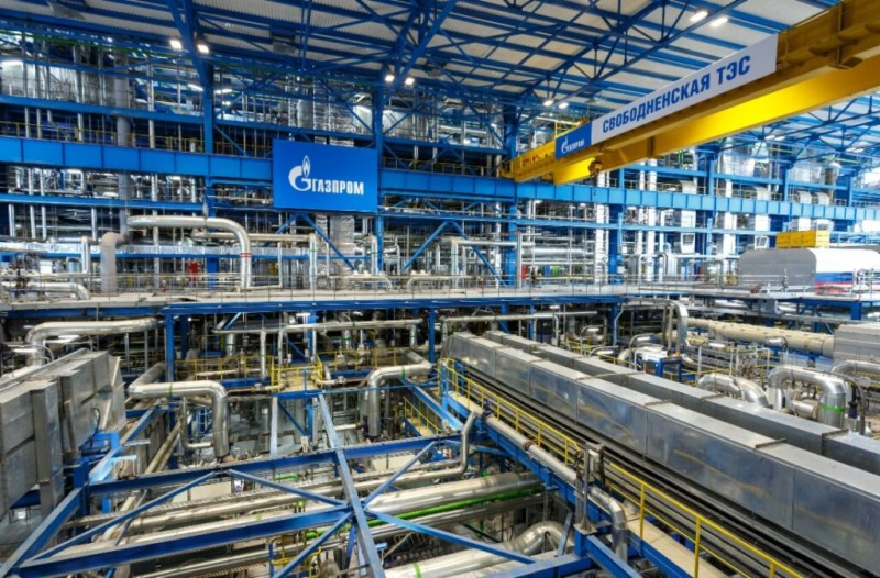 Διπλασιάσθηκαν τα έσοδα της Gazprom για το β΄τρίμηνο