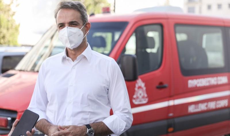 Κυρ. Μητσοτάκης: Αναδασωτέες όλες οι καμένες εκτάσεις