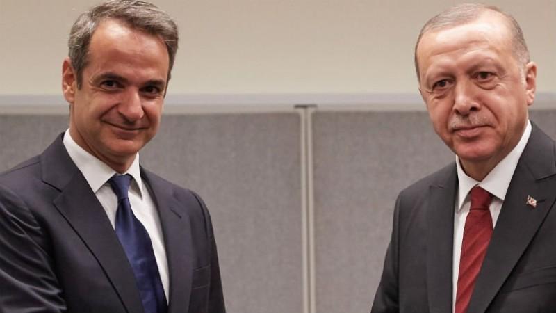 Μητσοτάκης - Ερντογάν: Δεν θα γίνουν αποθήκες ψυχών η Ελλάδα και η Τουρκία