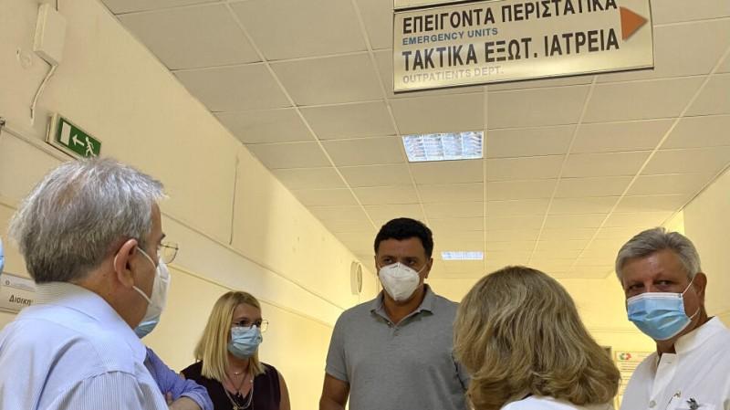 Β. Κικίλιας: 77 άτομα στα νοσοκομεία με αναπνευστικά προβλήματα