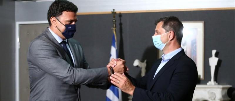 Θεοχάρης:Παραδίδω το brand Ελλάδα πιό δυνατό από ποτέ