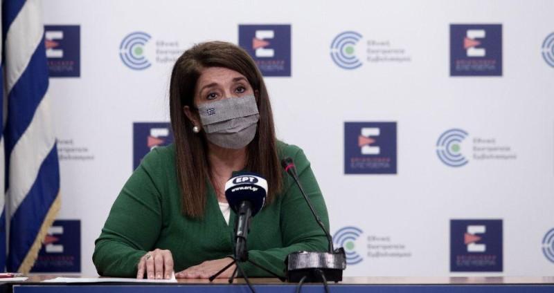 Β. Παπαευαγγέλου: Ανησυχητικές οι διαστάσεις της πανδημίας - Θα νοσήσουν όλοι οι ανεμβολίαστοι