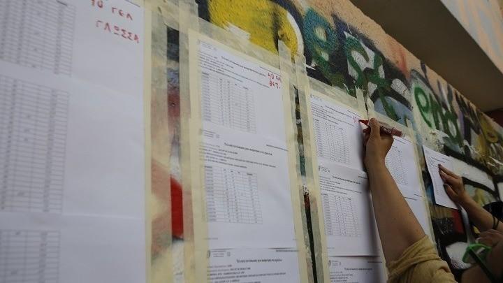 Τα αποτελέσματα εισαγωγής των υποψηφίων στις Πανελλαδικές