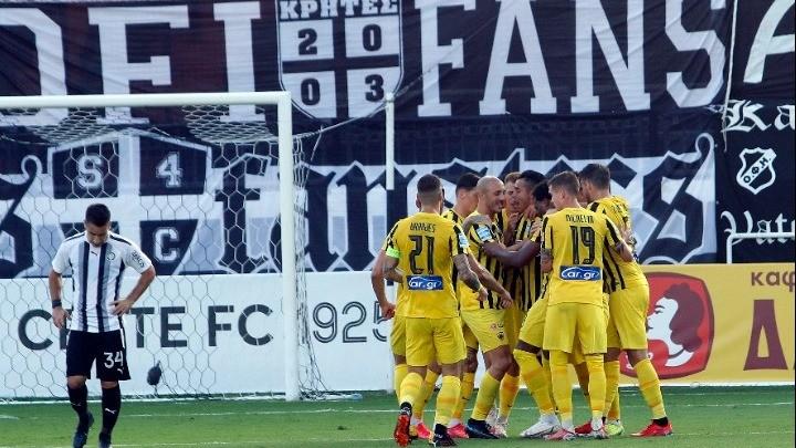 Με τρία γκολ μετά το 78΄ ο ΟΦΗ «φρέναρε» την ΑΕΚ (3-3)