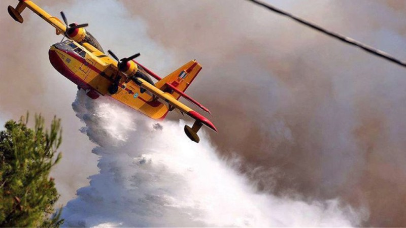 Ξεπέρασαν τις 2.000 ώρες πτήσης τα πυροσβεστικά της ΠΑ τον Αύγουστο