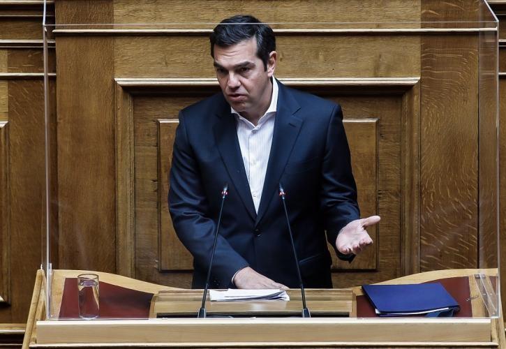 Αλ.Τσίπρας στη Βουλή: Ερασιτεχνική και ύποπτη η ιδιωτικοποίηση της ΔΕΗ