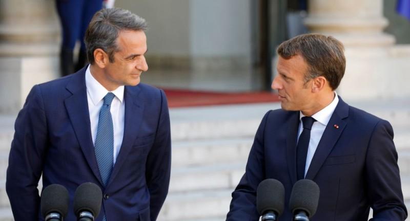 Κυρ.Μητσοτάκης: Κατευθυνόμαστε προς ουσιαστική εμβάθυνση της στρατηγικής συνεργασίας Ελλάδας - Γαλλίας