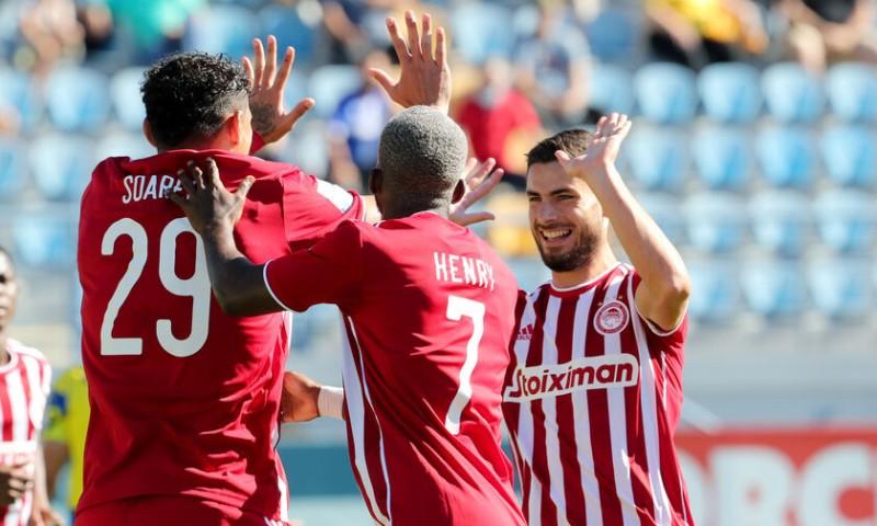 Νίκη στην Τρίπολη του Ολυμπιακού- 2-0 τον Αστέρα