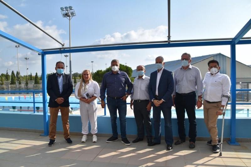 Επαναλειτουργεί μετά από 10 χρόνια το Δημοτικό Κολυμβητήριο Μαραθώνα