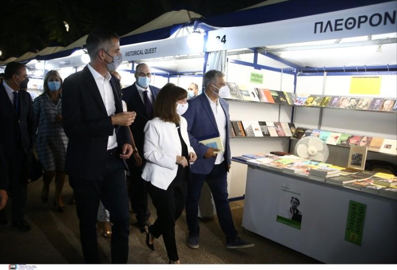 Η Πρόεδρος της Δημοκρατίας εγκαινίασε το 49ο Φεστιβάλ Βιβλίου