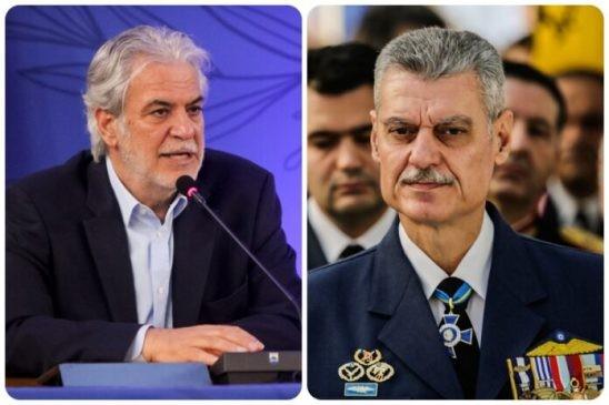 Υπουργείο Πολιτικής Προστασίας: Νέος υπουργός ο Χρήστος Στυλιανίδης,  υφυπουργός ο Πτέραρχος Τουρνάς