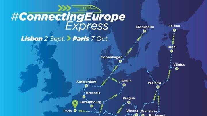 Ξεκίνησε το ταξίδι του το τρένο «Connecting Europe Express»