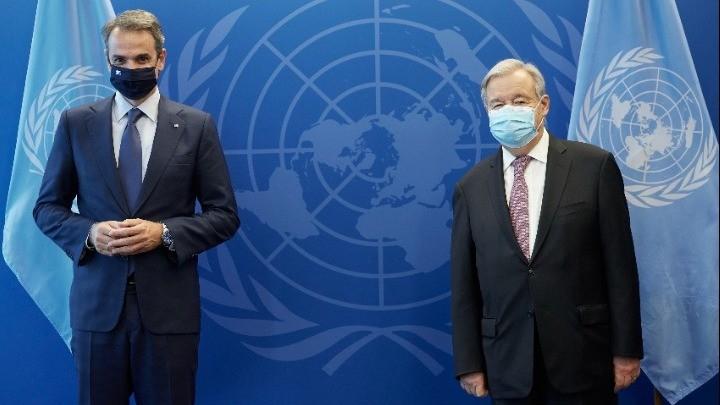 Το βράδυ η ομιλία Μητσοτάκη στη Γενική Συνέλευση του ΟΗΕ