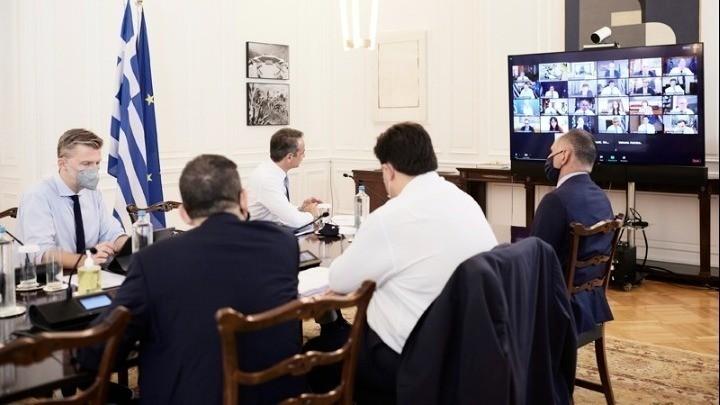 Συνεδριάζει μέσω τηλεδιάσκεψης το Υπουργικό Συμβούλιο