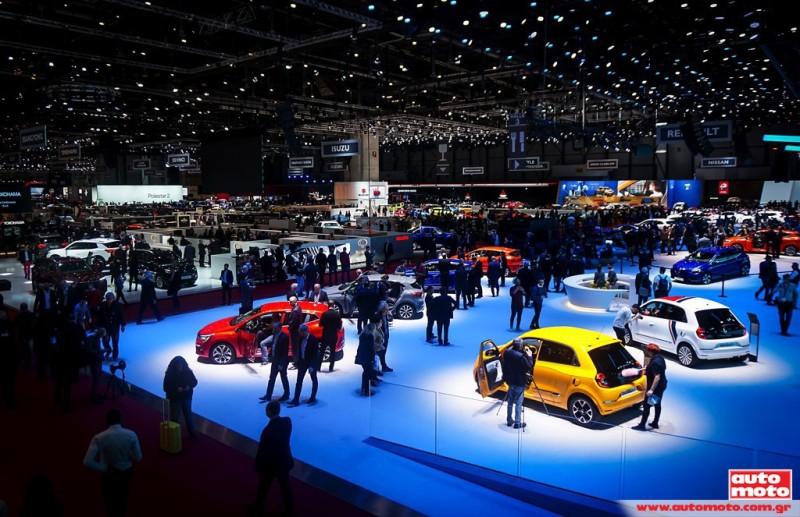 Αναβάλλεται η έκθεση Αυτοκινήτου της Γενεύης λόγω έλλειψης ημιαγωγών