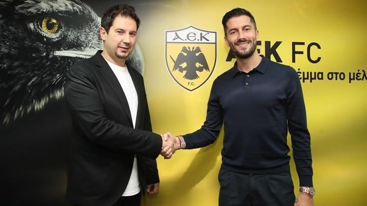 Ο Αργύρης Γιαννίκης νέος προπονητής της ΑΕΚ