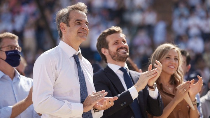 Μητσοτάκης-Ισπανία: Έχουμε κοινό όραμα για μια προοδευτική Ευρώπη