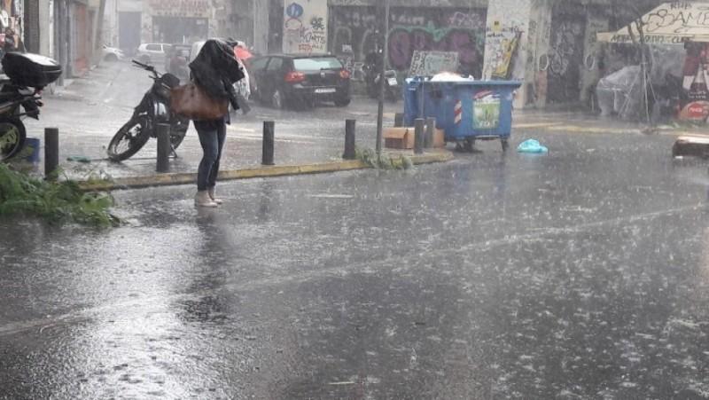 Καταιγίδες αναμένονται σήμερα στις περισσότερες περιοχές της χώρας
