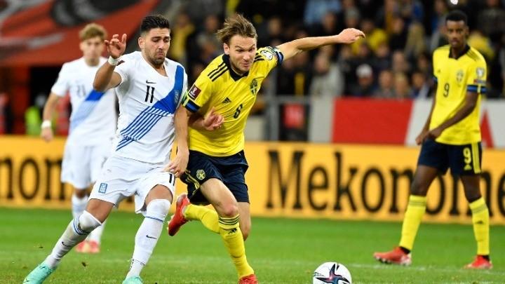 Ήττα 2-0 της Εθνικής Ελλάδας στη Σουηδία