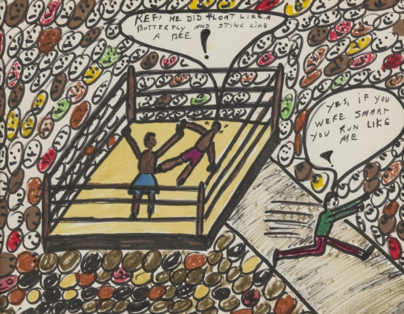 Eργα τέχνης του πυγμάχου Μοχάμεντ Άλι πουλήθηκαν $1 εκατ.