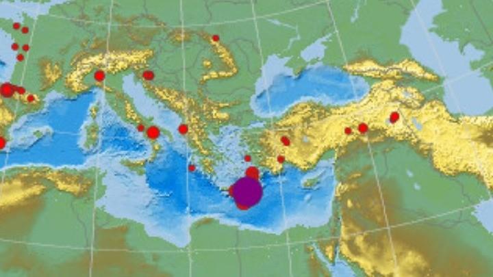Ισχυρός σεισμός 6,2 Ρίχτερ νότια της Κρήτης